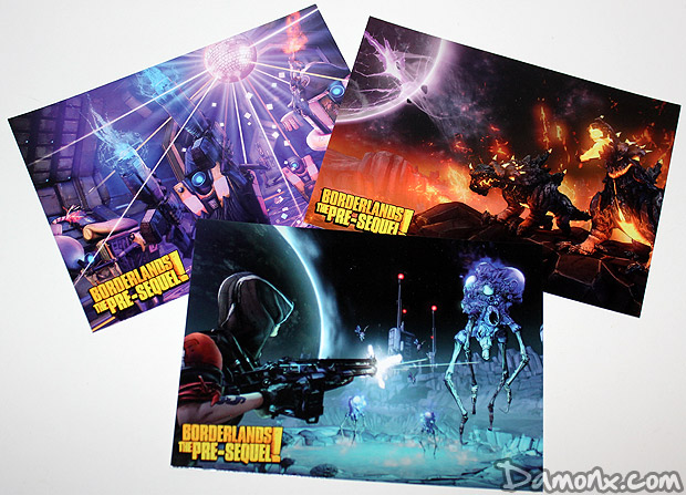 Press kit Borderlands The Pre-Sequel