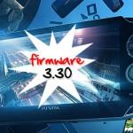 PS Vita – Mise à Jour Firmware 3.30