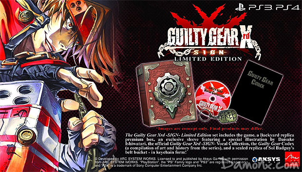 Guilty Gear Xrd SIGN Limited Edition PS4