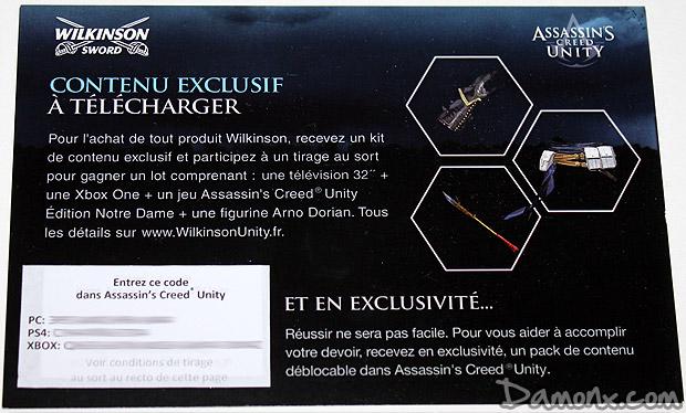 Buzz Kit Assassin's Creed Unity x Wilkinson