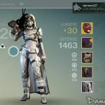 [Destiny] Level 30 et Equipement Après 179h de jeu