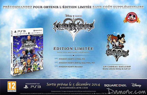 [Pré-co] Kingdom Hearts HD 2.5 ReMIX - Edition limitée PS3
