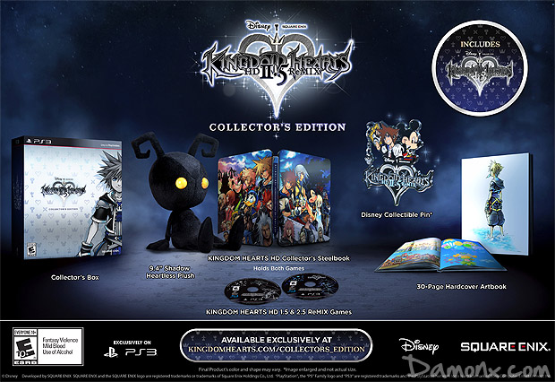 [Pré-co] Kingdom Hearts HD 2.5 ReMIX - Edition Collector PS3