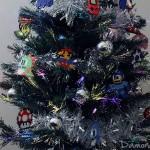 Mon Sapin de Noël en Mode Jeux Vidéo Rétro !