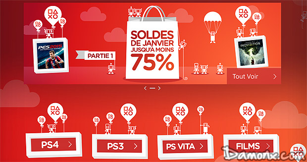 [Achat] PS Store Soldes de Janvier