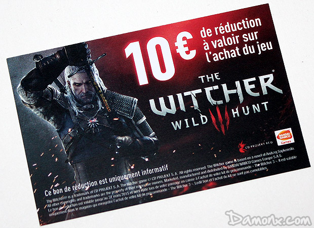 [Unboxing] The Witcher 3: Wild Hunt : Kit du Sorceleur