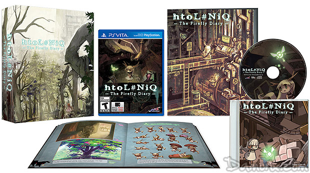 htoL#NiQ : The Firefly Diary Limited Edition sur PS Vita