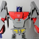 [Photos] Figurine Transformers Optimus Prime x Original PlayStation