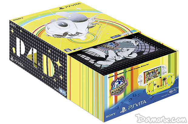 "[Pré-co] Console PS Vita Persona 4 : Dancing All Night ""Premium Crazy Box"" Limited Edition"