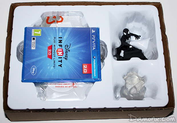 Unboxing disney infinity 2.0 PS Vita