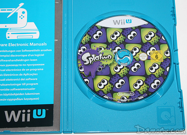Unboxing Press Kit Splatoon sur Wii U