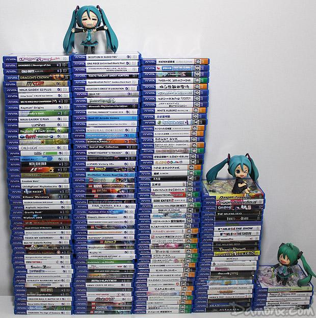 Ma Collection de Jeux PS Vita - Juillet 2015