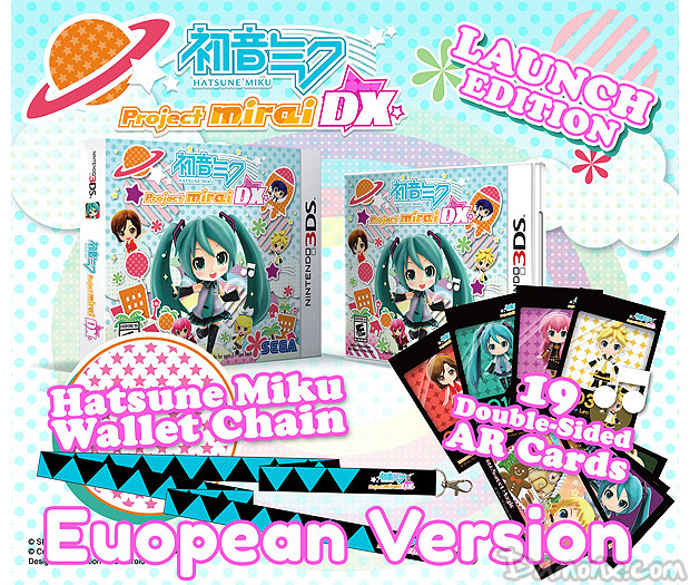[Pré-co] Hatsune Miku: Project Mirai DX Launch Edition sur 3DS