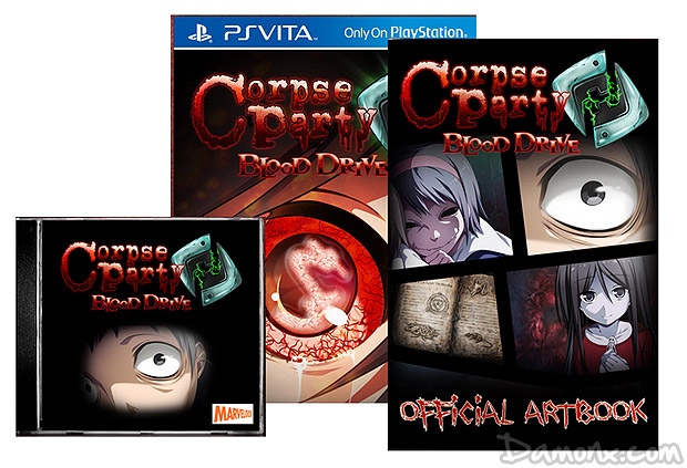 [Pré-co] Corpse Party – Blood Drive Special Edition sur PS Vita