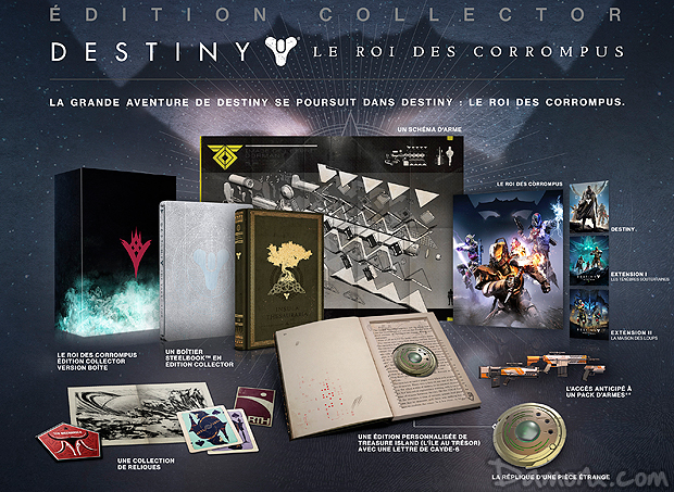 [Pré-co] Destiny : The Taken King (Le Roi des Corrompus) Edition Collector