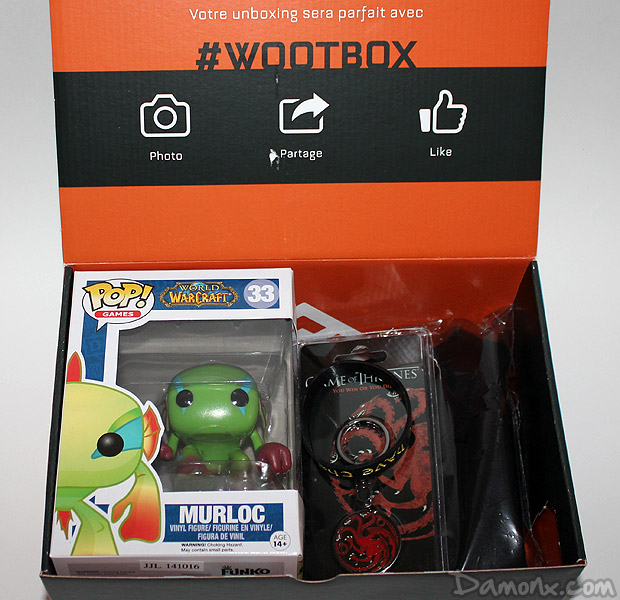 [Unboxing et Concours] Wootbox #1 Heroic Fantasy