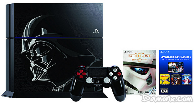 Photos et Infos de la PS4 Collector Star Wars / Dark Vador