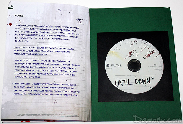 [Unboxing] Press Kit de Until Dawn sur PS4