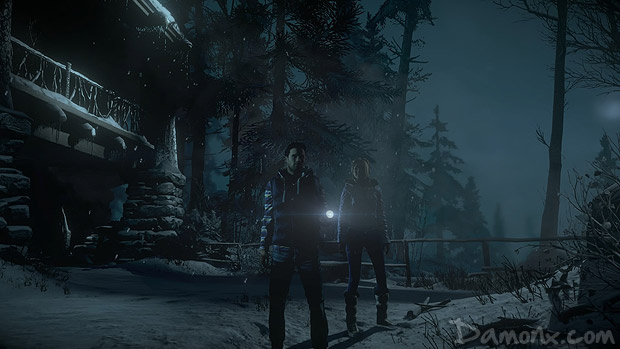 Test Until Dawn sur PS4
