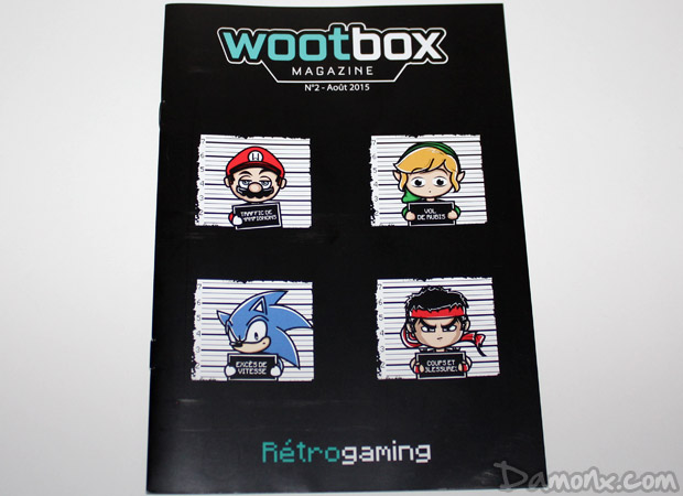 Unboxing Wootbox #3 retrogaming