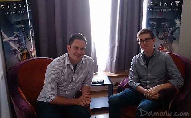 [Interview] Ryan Paradis & Jacob Benton pour Destiny : The Taken King