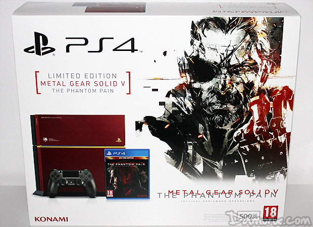 [Unboxing] Console PS4 Metal Gear Solid V Limited Edition