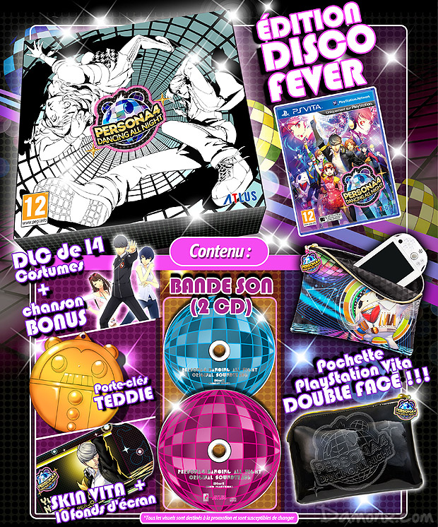 [Pré-co] Persona 4 Dancing All Nights - Disco Fever Edition