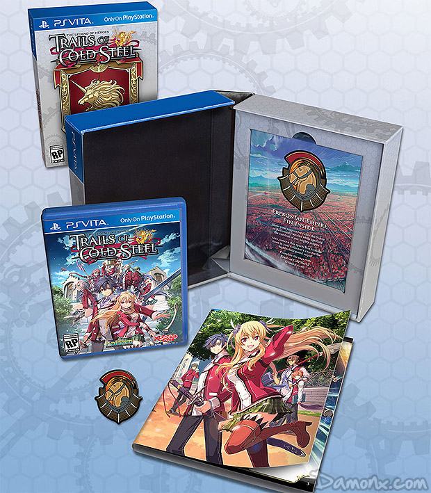 [Pré-co] The Legend of Heroes : Trails of Cold Steel (Lionheart Edition) PS Vita