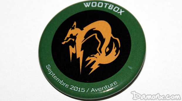 Unboxing Wootbox Septembre 2015 Aventure