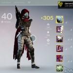 [Destiny] Level 40 – 305 et Equipements Après 770h de Jeu