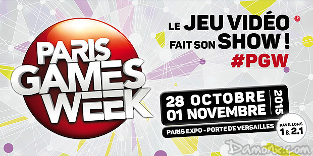 [Evénement] Paris Games Week 2015 du 28 au 1er nov à Paris