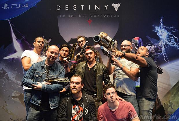 [Destiny] Première rencontre IRL avec ma Team à la Paris Games Week !