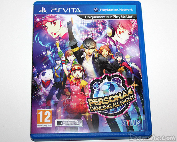 [Unboxing] Persona 4 Dancing All Nights – Disco Fever Edition PS Vita
