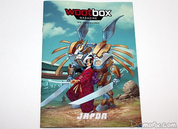 [Unboxing] Wootbox #6 Novembre 2015 Japon
