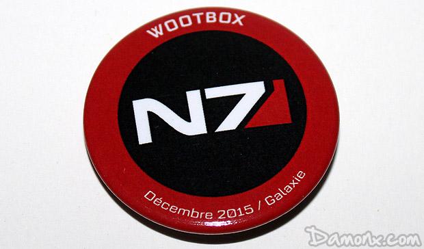 [Unboxing] Wootbox #7 Décembre 2015 Galaxie
