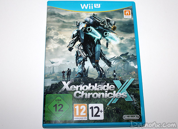 [Unboxing] Xenoblade Chronicles X Limited Edition sur Wii U