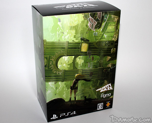 [Unboxing] Gravity Daze (Gravity Rush) Collector's Edition sur PS4