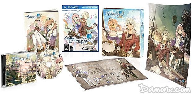 [Pré-co] Atelier Escha & Logy Plus Limited Edition sur PS Vita