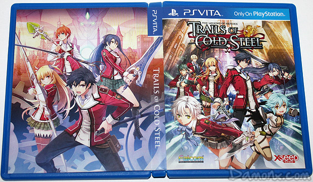 [Unboxing] The Legend of Heroes : Trails of Cold Steel (Lionheart Edition) PS Vita
