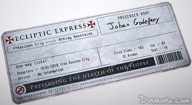 [Unboxing] Press Kit Resident Evil Origins Collection