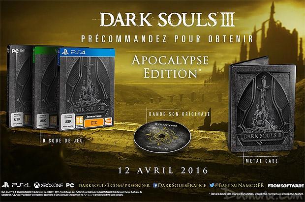 [Pré-co] Dark Souls III - Apocalypse Edition + Guide Collector