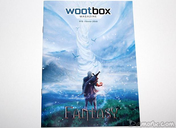 [Unboxing] Wootbox #9 Février 2016 : Fantasy