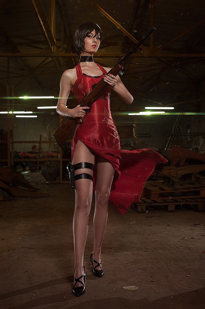 40 heroines sexy des jeux video. Cosplay-ada-wong05
